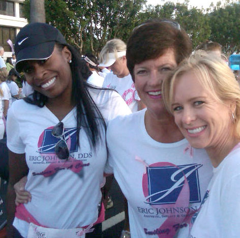 BREAST CANCER WALK EVENT WORN